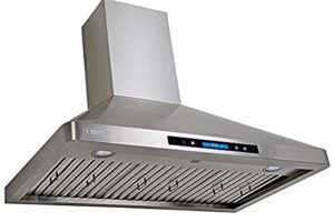 XtremeAir Width PX02-W36 Wall Mount Range Hood with Baffle Filters